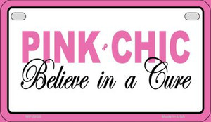 Pink Chic Novelty Wholesale Motorcycle License Plate MP-2899