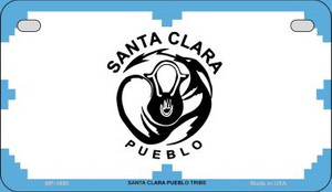 Santa Clara Pueblo Tribe Novelty Wholesale Motorcycle License Plate MP-1880