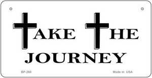 Take The Journey Novelty Wholesale Bicycle License Plate
