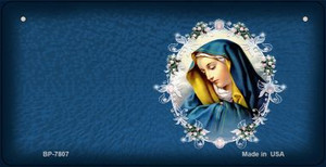 Virgin Mary Novelty Wholesale Bicycle License Plate BP-7807