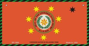 Cherokee Nation Novelty Wholesale Bicycle License Plate BP-1868