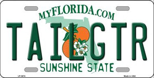 Tailgtr Florida Novelty Wholesale Metal License Plate