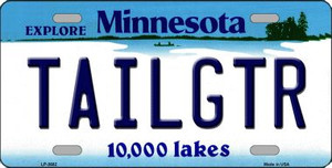 Tailgtr Minnesota Novelty Wholesale Metal License Plate