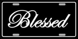 Blessed Wholesale Novelty License Plate LP-11703