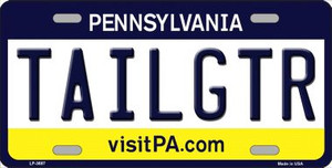 Tailgtr Pennsylvania Novelty Wholesale Metal License Plate