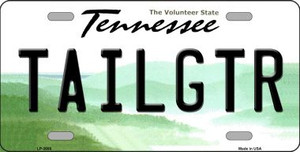 Tailgtr Tennessee Novelty Wholesale Metal License Plate