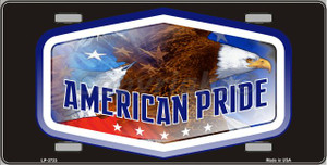 American Pride Wholesale Metal Novelty License Plate LP-3735