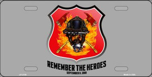 Remember The Heroes Wholesale Metal Novelty License Plate