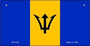 Barbados Flag Wholesale Novelty Bicycle Plate BP-2152