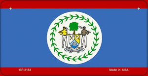 Belize Flag Wholesale Novelty Bicycle Plate BP-2153