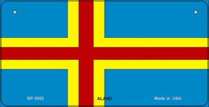 Aland Flag Wholesale Novelty Bicycle Plate BP-3952