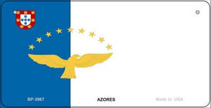 Azores Flag Wholesale Novelty Bicycle Plate BP-3967