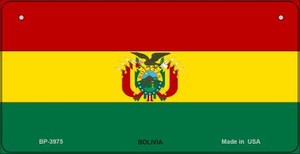 Bolivia Flag Wholesale Novelty Bicycle Plate BP-3975