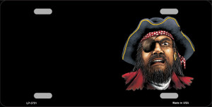 Pirate Offset Wholesale Metal Novelty License Plate