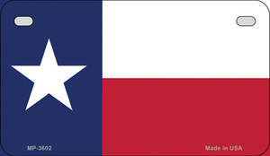 Texas Flag Wholesale Novelty Motorcycle Plate MP-3602