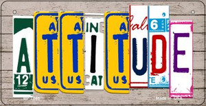 Attitude Plate Art Wholesale Novelty Bicycle Plate BP-7846