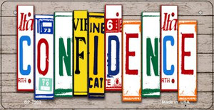 Confidence Plate Art Wholesale Novelty Bicycle Plate BP-7903