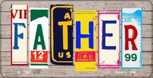 Father Plate Art Wholesale Novelty Bicycle Plate BP-7908