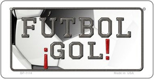 Futbol Gol Wholesale Novelty Bicycle Plate BP-1114