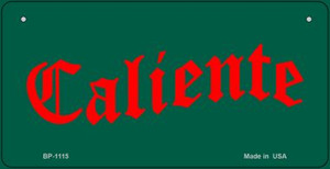 Caliente Wholesale Novelty Bicycle Plate BP-1115