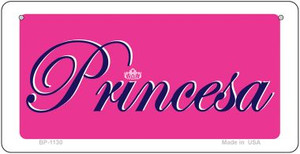 Princesa Wholesale Novelty Bicycle Plate BP-1130