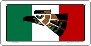 Made In Mexico (Flag) Wholesale Novelty Bicycle Plate BP-4769