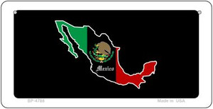 Mexico Outline Wholesale Novelty Bicycle Plate BP-4788