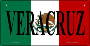 Veracruz Mexico Flag Wholesale Novelty Bicycle Plate BP-3439
