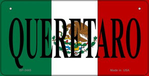 Queretaro Mexico Flag Wholesale Novelty Bicycle Plate BP-3445