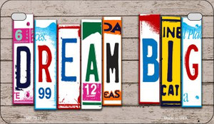 Dream Big Plate Art Wholesale Novelty Motorcycle Plate MP-7937