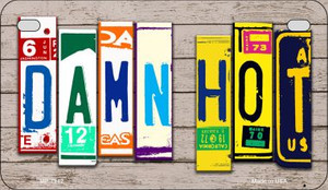 Damn Hot Plate Art Wholesale Novelty Motorcycle Plate MP-7942