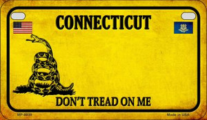 Connecticut Do Not Tread Wholesale Novelty Motorcycle Plate MP-8839