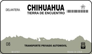 Chihuahua Blank Background Wholesale Aluminum Magnet M-4797