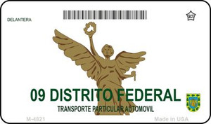 Districto Federal Blank Background Wholesale Aluminum Magnet M-4821