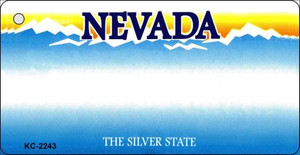 Nevada Blank Background Wholesale Aluminum Key Chain KC-2243