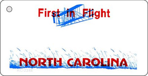 North Carolina Blank Background Wholesale Aluminum Key Chain KC-2248