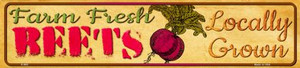 Farm Fresh Beets Wholesale Small Street Signs K-662