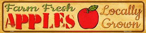 Farm Fresh Apples Wholesale Small Street Signs K-680