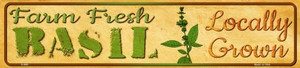 Farm Fresh Basil Wholesale Small Street Signs K-698