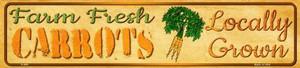 Farm Fresh Carrots Wholesale Small Street Signs K-699