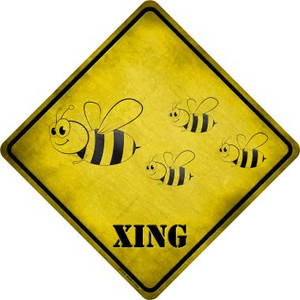 Cartoon Bee Xing Novelty Wholesale Crossing Sign CX-312