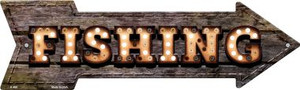 Fishing Bulb Letters Wholesale Novelty Arrow Sign A-466