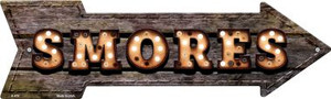 Smores Bulb Letters Wholesale Novelty Arrow Sign A-470