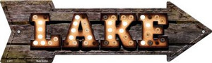 Lake Bulb Letters Wholesale Novelty Arrow Sign A-471