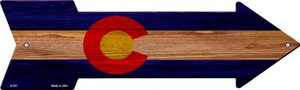 Colorado State Flag Wholesale Novelty Arrows A-527