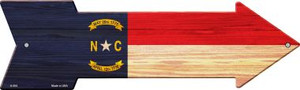 North Carolina State Flag Wholesale Novelty Arrows A-554