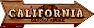 California Bulb Lettering With State Flag Wholesale Novelty Arrows A-585