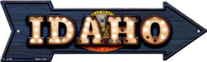 Idaho Bulb Lettering With State Flag Wholesale Novelty Arrows A-592