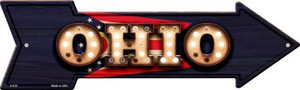 Ohio Bulb Lettering With State Flag Wholesale Novelty Arrows A-615