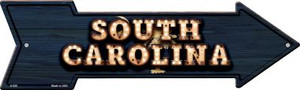 South Carolina Bulb Lettering With State Flag Wholesale Novelty Arrows A-620